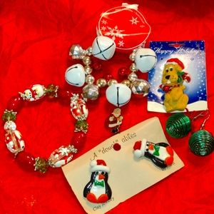 NWT~EXQUISITE~Christmas jewelry lot